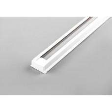 Шинопровод для трековых светильников Feron CAB1000 белый 1м ( в наборе 2 заглушки крепление) (арт. 10313)