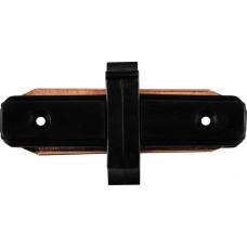 Коннектор прямой для шинопровода Feron LD1000 черный (арт. 10324)