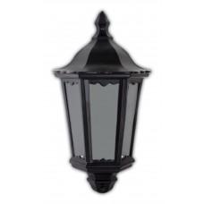 """Уличный настенный светильник """"Классика"""" Feron 6206 60W 230V E27 240*110*435мм черный (половинка на стену) (арт. 11539)"""