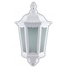 """Уличный настенный светильник """"Классика"""" Feron 6206 60W 230V E27 240*110*435мм белый (половинка на стену) (арт. 11540)"""