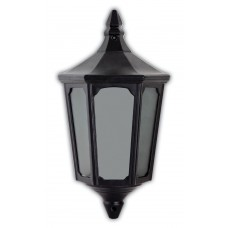"""Уличный настенный светильник """"Классика"""" Feron 4206 60W 230V E27 195*100*355мм черный (половинка на стену) (арт. 11542)"""