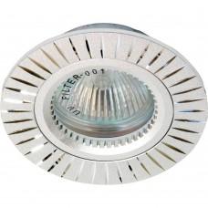 Встраиваемый светильник Feron GS-M394S MR16 50W G5.3 серебро 17936