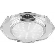 Точечный светильник Feron 4020-2 11W 230V GX53, без лампы, прозрачный (арт. 20148)