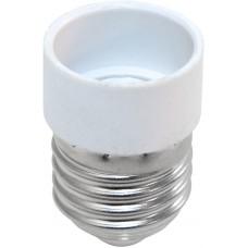 Патрон-переходник с E14 на E27 (для лампы E14) LH64 220V 28x43мм (арт. 22334)