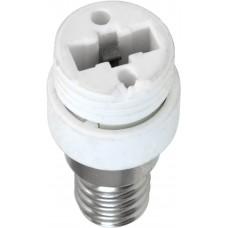 Патрон-переходник с G9 на E14 (для лампы G9) LH79 220V 22x48мм (арт. 22338)