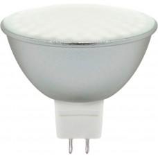 Лампа светодиодная Feron LB-26 80LED (7W) 230V G5.3 6400K MR16 матовая