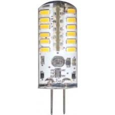 Лампа светодиодная Feron LB-422 48LED(3W) 12V G4 4000K капсула силикон 11x38mm