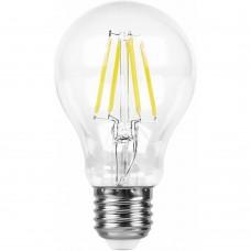Лампа светодиодная Feron LB-63 9W 230V E27 4000K филамент A60 (арт. 25632)