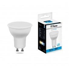 Лампа светодиодная Feron LB-560 9W 230V GU10 6400K MR16 (арт. 25844)
