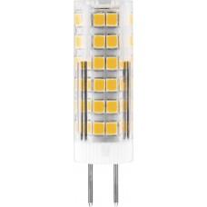 Лампа светодиодная Feron LB-433 7W 230V G4 6400K 16*50мм (арт. 25865)