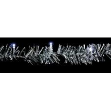 """Гирлянда светодиодная """"Мишура белая"""" Feron CL404 20LED белый 2м 4000К (арт. 26758)"""