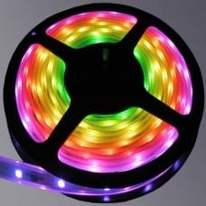 Лента светодиодная влагозащитная 12V 5 м Feron LS607 14.4W/m RGB 27651