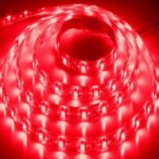 Лента светодиодная влагозащитная 12V 5 м Feron LS604 4.8W/m 12V IP65 красный 27676