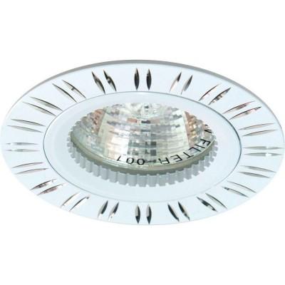 Встраиваемый светильник Feron GS-M393W MR16 50W G5.3 белый 28343