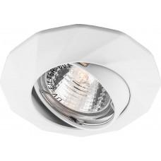 Встраиваемый светильник Feron DL6021 MR16 50W G5.3 белый (арт. 28878)