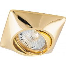 Точечный светильник Feron DL6046 MR16 50W G5.3 золото (арт. 28880)