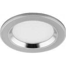 Встраиваемый светодиодный светильник Feron AL610 7W 560Лм 4000К хром (арт. 28910)