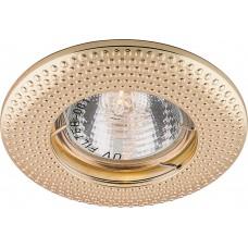 Встраиваемый светильник Feron DL6042 MR16 50W G5.3 золото (арт. 28955)