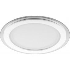 Встраиваемый светодиодный светильник Feron AL2110 встраиваемый ф240мм 24W 1640Lm 4000K белый (арт. 28968)