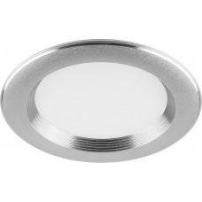 Встраиваемый светодиодный светильник Feron AL615 7W 560Лм 4000К серебро (арт. 29480)