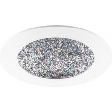 Встраиваемый светодиодный светильник Feron AL9070 12W 480Lm 4000K белый с мультиколором (арт. 29549)