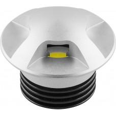 Светодиодный светильник Feron LN004 встраиваемый 3W 210Lm 4000К серебро (арт. 29579)