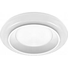 Встраиваемый светильник с белой LED подсветкой Feron AL605 6W 480 Lm 3000К белый (арт. 29600)