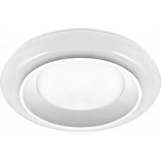 Встраиваемый светильник с белой LED подсветкой Feron AL605 12W 960 Lm 3000К белый (арт. 29601)