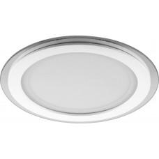 Встраиваемый светодиодный светильник Feron AL2110 встраиваемый 18W ф198мм 1120Lm 4000K белый (арт. 29626)
