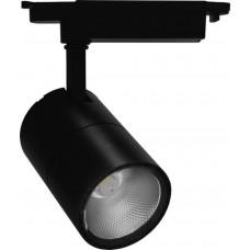 Трековый светодиодный светильник Feron AL103 30W 2400 Lm 4000К 35 градусов черный (арт. 29649)