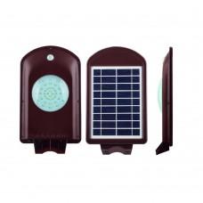 Консольный светильник на солнечной батарее Feron SP2331 40LED 2w 6000K пластик, с датчиком движения IP65 32025