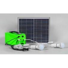 Аккумуляторная солнечная панель Feron SP2336 солярная панель +кабель 5м, 6LED, 0,5W,батарея 7AH 12 32030