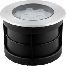 Тротуарный светодиодный светильник Feron SP2708 24LED теплый белый 24W 250*H90мм IP67 (арт. 32136)