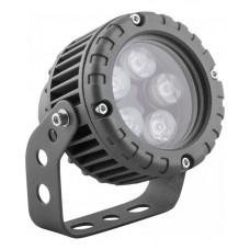 Прожектор светодиодный круглый Feron LL-882 D95xH130мм, IP65 5W, теплый белый (арт. 32138)