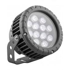 Прожектор светодиодный круглый Feron LL-883 D150xH200мм, IP65 12W, RGB (арт. 32142)