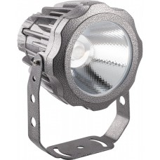 Прожектор светодиодный круглый Feron LL-886 D90xH115мм, IP65 10W, холодный белый (арт. 32150)