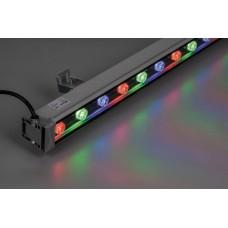 Прожектор линейный светодиодный Feron LL-889 18LED RGB, 1000*46*46мм, 18W IP65 (арт. 32156)