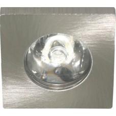 Мебельный светильник Feron G774 1 LED 1 W серебро 6400К 27668