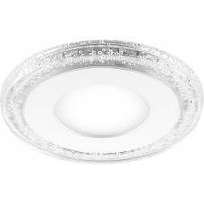 Встраиваемый светильник с белой LED подсветкой Feron AL2330 6W 480 Lm 4000К (арт. 29584)