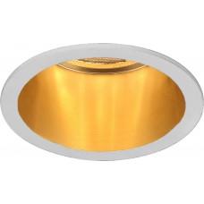Светильник встраиваемый Feron DL6003 потолочный MR16 G5.3 белый+золото (арт. 29732)