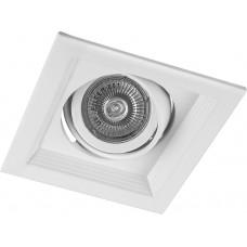 Светильник встраиваемый Feron DLT201 потолочный MR16 G5.3 белый (арт. 29770)