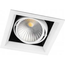 Светодиодный светильник Feron AL211 карданный 1x30W 4000K 35 градусов ,белый (арт. 29779)