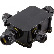 Водонепроницаемая cоединительная коробка Feron LD524, 450V, 140х100х36, черный (арт. 32247)