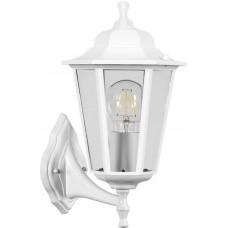 Светильник садово-парковый Feron НБУ 06-60-001 вверх/вниз, 6-ти гранник 60W E27 230V, белый