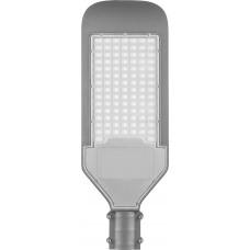 Светодиодный уличный консольный светильник Feron SP2924 100W 3000K AC230V/ 50Hz серый (арт. 32277)