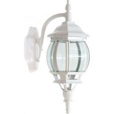Светильник садово-парковый Feron 8102/PL8102 восьмигранный на стену вниз 100W E27 230V, белый
