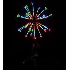 Светодиодный мини-фейерверк ШАР Flesi LED-EM-003-12V-II-02-M, 0,8*1 м.