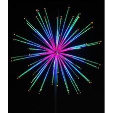Фейерверк ШАР с контрол. Flesi LED-EM-002-М, 240V 12 реж. 4м*4м*4м, 52 луча (2 кор.)