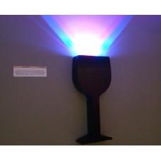 Настенный светодиодный светильник Flesi Glass RG