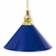 Светильник для бильярдного стола Prestige Golden Blue 1 плафон